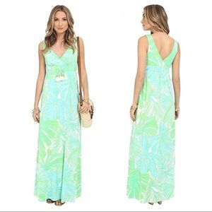LIKE NEW Lilly Pulitzer Isla Maxi Dress